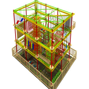 Playground Indoor of Wooden Toy pictures & photos