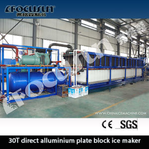 30t Per Day Direct aluminium Plate Freezing Block Ice Maker pictures & photos