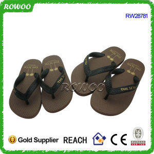 100% Rubber Summer Beach Flip Flops Thongs (RW28781C)