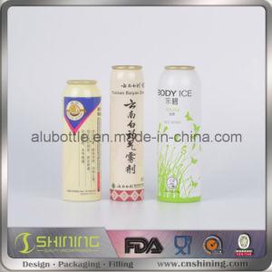 Aluminium Aerosol Can for Food Aluminum Spray Bottle pictures & photos