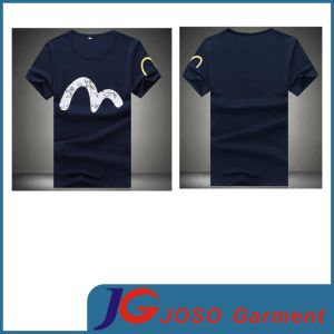 Whosesale Round Neck Printed T Shirt Man Top Clothes (JS9014m) pictures & photos