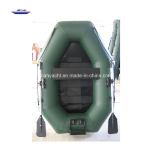 2017 2 Person Cheap Hand Made PVC Fishing Boat for Sale in China pictures & photos