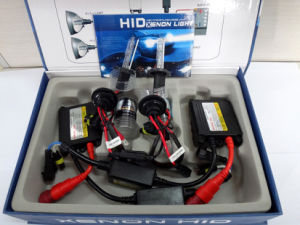 AC 55W H7 HID Xenon Lamp HID Kit with Slim Ballast pictures & photos