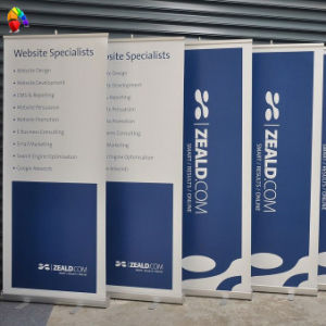 Advertising Banner Stand with Display Banner (BC-RBD03) pictures & photos