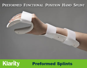 Thermoplastic Splints - Preformed Functional Position Hand Splint pictures & photos