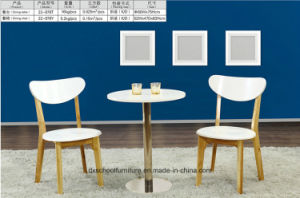 Modern Solid Wood Table and Chair for Living Room pictures & photos