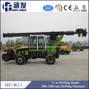 Wheel Type Rotary Drilling Rig (HF-W11) pictures & photos