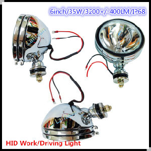 6′′ 35W Silver Spotlight HID Work Light pictures & photos