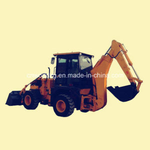 Hot Sale Articulated Backhoe with Cummins Engine pictures & photos