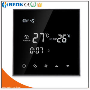 Touch Screen Weekly Programmable Air conditioner Thermostat (TGT70-AC) pictures & photos