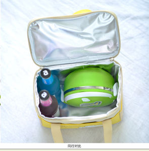Green Polyester Ice Picnic Promotion Bag with Zipper pictures & photos