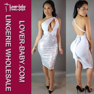 Fashion Seamless Grey Sexy Woman Dresses (L27898-6) pictures & photos