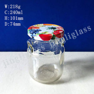 Jam Glass Jar / Glass Jar for Jam pictures & photos