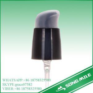 24/415 PP Black Treatment Pump Cream Pump with Half Cap pictures & photos