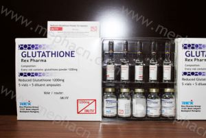 High Quality Glutathione 1200mg, Glutathione for Injection, Glutathione with Vc Injection for Skin Whitening pictures & photos