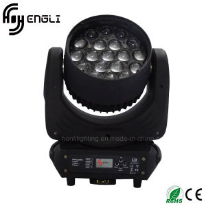 19PCS LED Moving Head Zoom Wash Disco Stage Lighting pictures & photos