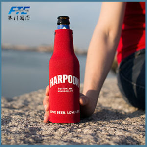 Promotional Cheap Custom Logo Printed Neoprene Bottle Cooler pictures & photos