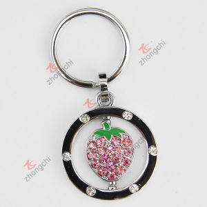 2015 New Trends Crystals Heart Key Chain (KR-32) pictures & photos