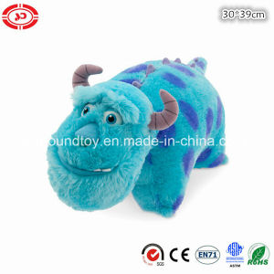 Monster College Blue Fluffy Plush Soft Sleeping Buddy Cushion pictures & photos