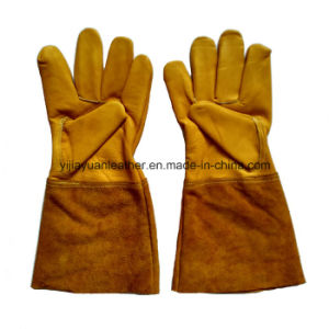 Custom Made Leather TIG Welding Gloves pictures & photos