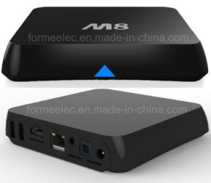 Android TV Box M8 with S802 Quad-Core 2GB8GB WiFi Bt 4k pictures & photos