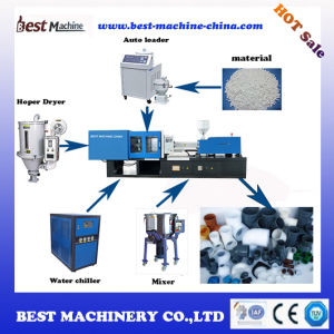 Plastic PVC PPR Pipe Injection Molding Machine for Sale pictures & photos