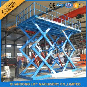 Ce Large Heavy Duty Double Scissors Home Garage Car Lift pictures & photos