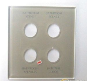 Profession OEM/ODM Factory Supply Tempered Glass Switch Panel pictures & photos
