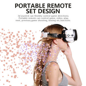 3D Vr Glasses Buy+Shopping Whith Bluetooth Remote Controller (Vr Case 6th) pictures & photos