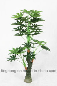 Home Decoration Artificial Tree Plant with 36 Leaves