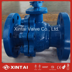 Floating A216 Wcb Ball Valve with Flange Ends