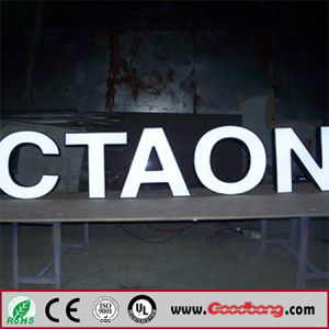 Advertising Outdoor Strong Sound Lighting LED Letter Advertising pictures & photos