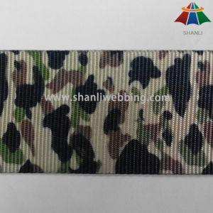 Wholesale 2 Inch Camouflage Printed Polyester Webbing pictures & photos