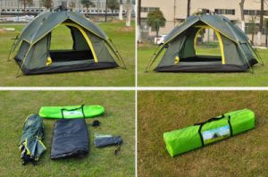 Hot Sale Fiberglass Pole Outdoor Camping Creving Tent pictures & photos