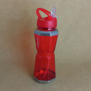 PC Water Bottle with Straw, Sports Water Bottle pictures & photos
