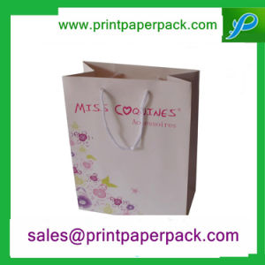 Custom Printed Recycle Paper Carrier Bag for Shopping pictures & photos