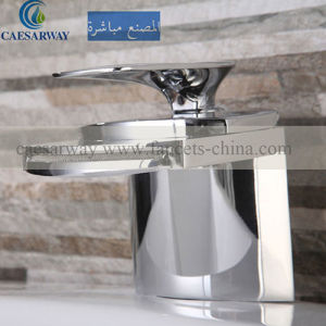 Stainless Steel Single Lever Basin Waterfall Mixer for Vanity pictures & photos