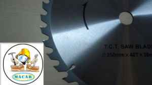Tct Customized Quality Diamond Saw Blade for Cutting Wood pictures & photos