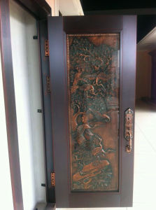 Luxury Unique Art Copper Door pictures & photos