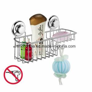 Rust Free Bathroom Shower Caddy Combo Basket Shower Shelf, Stainless Steel