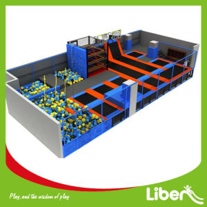 Jumping Street Trampoline Park, Building Indoor Trampoline Park pictures & photos
