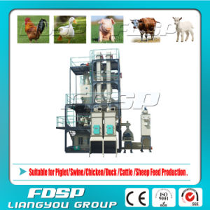 ISO Cattle Feed Milling Process Line (SKJZ4800) pictures & photos