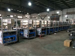 Semi Automatic 3D Cellophane Wrapping Machine pictures & photos