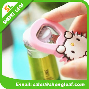 Customize Soft PVC Rubber Bottle Opener pictures & photos