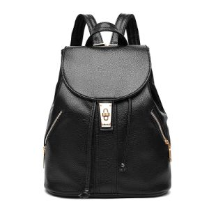 Classics Deisgner PU Lether School Backpack Bag Fashion Travel Bag (XB0929) pictures & photos