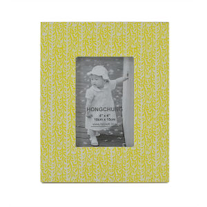 Colorful MDF Wooden Photo Frame for Desktop pictures & photos