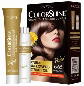 Tazol 50ml*2 Sunflower Hair Color Cream Hair Dye pictures & photos