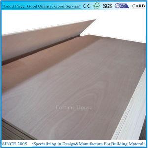 Okoume Veneer and Poplar Core Commercial Door Skins Plywood pictures & photos