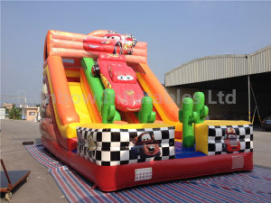 Inflatable Race Car Slide /Inflatable Slide pictures & photos