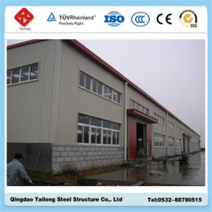 High Quality Light Steel Prefabricated Warehouse pictures & photos